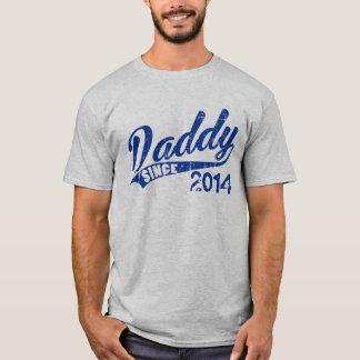 Papa personnalisé depuis l'année t-shirt