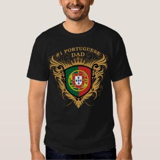 Papa portugais du numéro un t-shirt