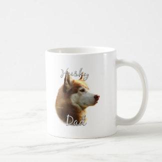 Papa (rouge) 2 de chien de traîneau sibérien mug