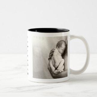 Papa spécial mug bicolore