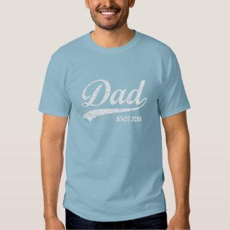 Papa vintage depuis [année] le T-shirt foncé