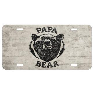 """Papa vintage d'ours noir de style """"d'ours de papa"""""""