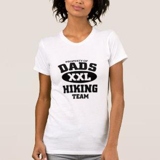 Papas augmentant l'équipe t-shirt