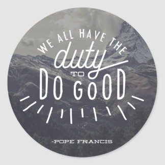 Pape Francis Sticker