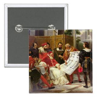 Pape Jules II Bramante de commande Badge
