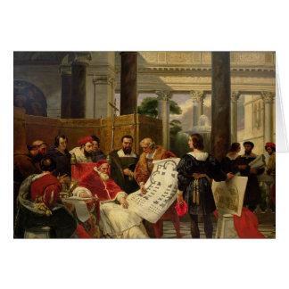 Pape Jules II Bramante de commande Carte De Vœux