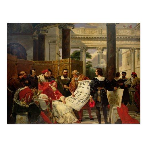 Pape Jules II Bramante de commande Carte Postale