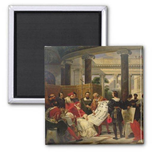 Pape Jules II Bramante de commande Aimant