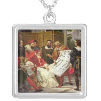 Pape Jules II Bramante de commande Pendentif Carré