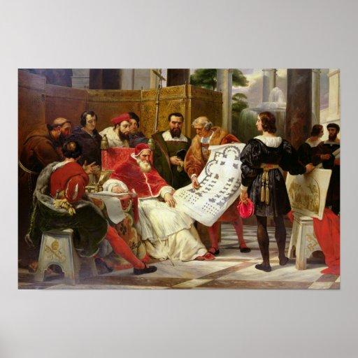 Pape Jules II Bramante de commande Posters