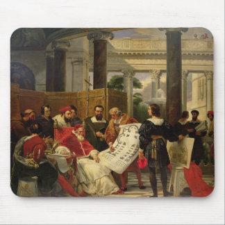 Pape Jules II Bramante de commande Tapis De Souris