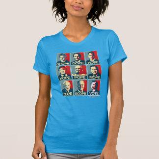 Pape Mope Cope Vote Hillary de Nope d'espoir de T-shirt