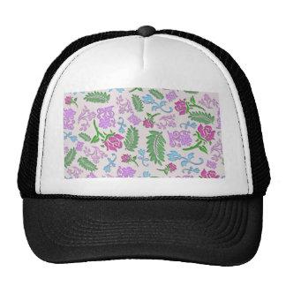 Papercut floral casquette