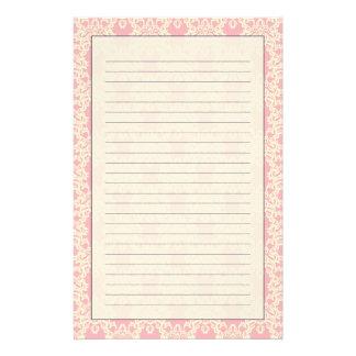 papier à lettre baroque