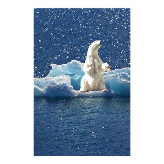 Papeterie Ajoutez le SLOGAN pour sauver la glace arctique de