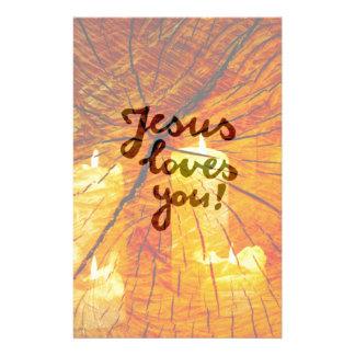 Papeterie Amours de Jésus de ministère vous