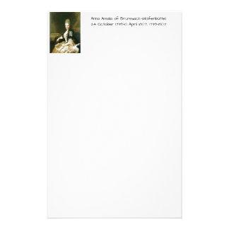 Papeterie Anna Amalia de Brunswick-Wolfenbuttel 1739-1807