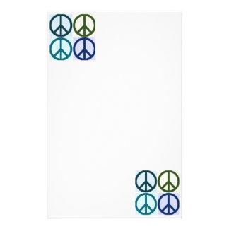 Papeterie Art de bruit de signe de paix