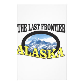 Papeterie art de logo de l'Alaska