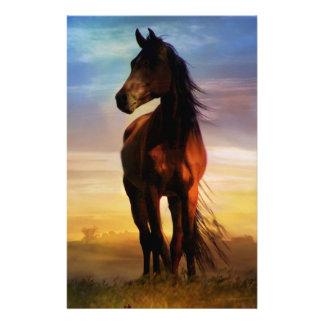 Papeterie Art des cadeaux de cheval