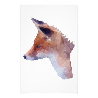 Papeterie Bas poly Fox