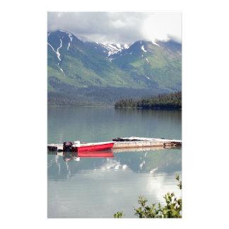 Papeterie Bateau sur le lac trail, Alaska