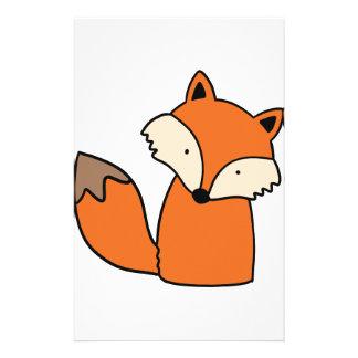 Papeterie Beau renard rouge
