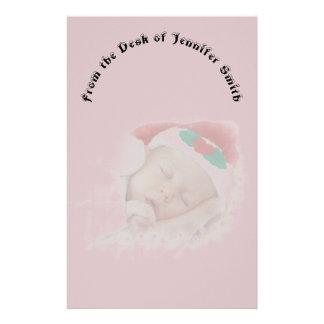 Papeterie Bébé de sommeil de Père Noël