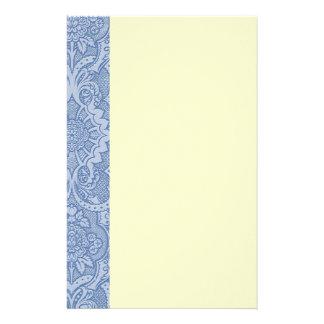 Papeterie Bleu de dentelle élégant