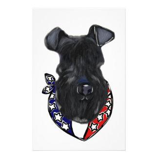 Papeterie Bleu de Kerry Terrier 4 juillet