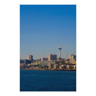 Papeterie Bord de mer/SpaceNeedle de Seattle