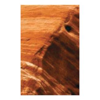 Papeterie bord posé de roche