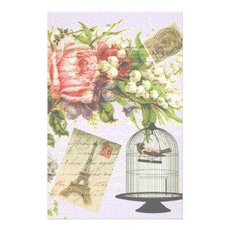 Papeterie Cage à oiseaux vintage de Paris
