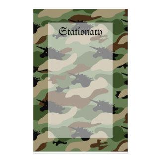 Papeterie Camouflage de licorne