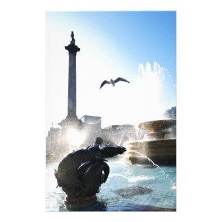Papeterie Carré de Trafalgar à Londres, R-U