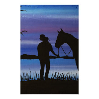 Papeterie cavalier et cheval