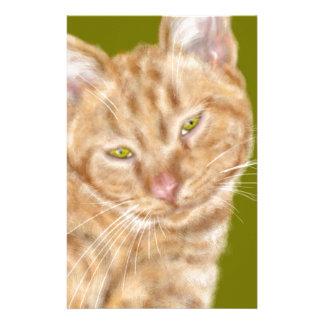 Papeterie Chat avec les yeux verts