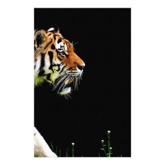 Papeterie Chat dangereux de fourrure prédatrice de tigre