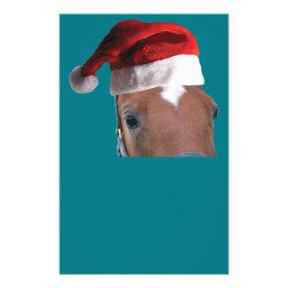 Papeterie Cheval de Noël