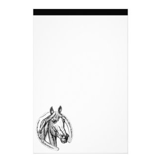 Papeterie Cheval et fer à cheval stationnaires