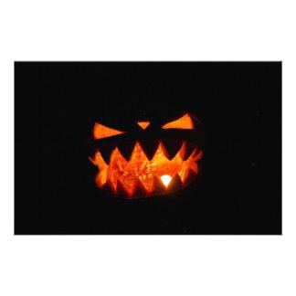Papeterie Citrouille de Halloween