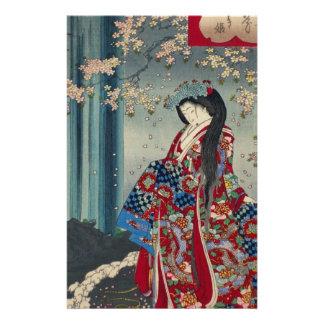 Papeterie Classique japonais de cool d'art de Madame Japon