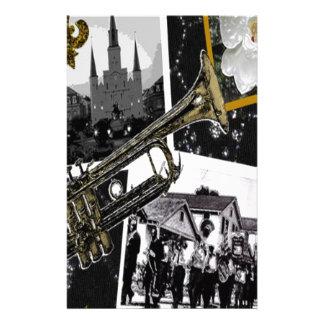 Papeterie Collage classique de la Nouvelle-Orléans Digital