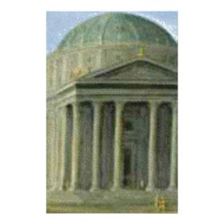 Papeterie colonnes voûtées