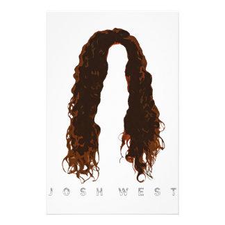 Papeterie Conception des cheveux de Josh
