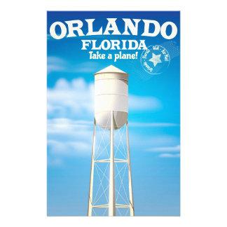 Papeterie Copie de voyage de tour d'eau d'Orlando, la