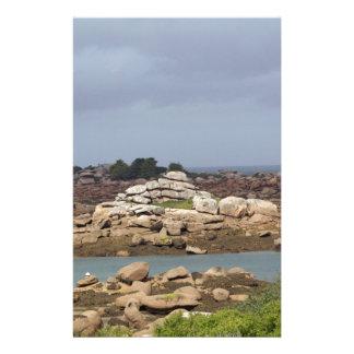 Papeterie Côte rose de granit en Bretagne
