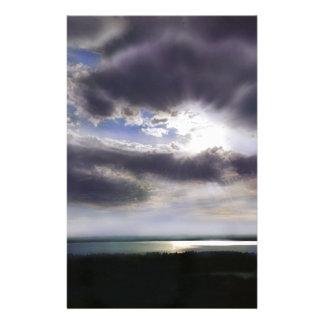 Papeterie Coucher du soleil au-dessus du lac