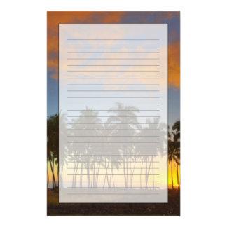 Papeterie Coucher du soleil au parc historique national