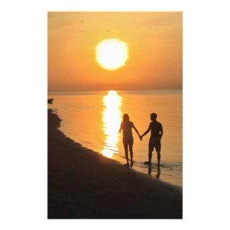 Papeterie Coucher du soleil dans Bali